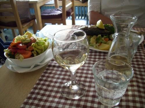 Vin och fisk